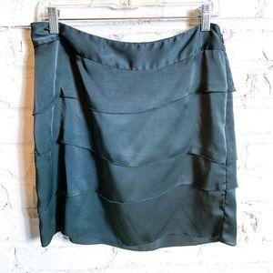Banana Republic Tiered Silky Skirt